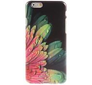 Elegant Flower Pattern Hard Case for iPhone 6