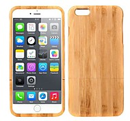 Lightweight Bamboo Fashion Environmental Protective Case Back Cover for iPhone 6 Plus