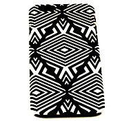 Fashion Black Lozenge Pattern TPU Soft Cover for iPhone 6 Case 4.7 inch