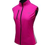 outto l'eau respirante manches résistant à vélo rose vélo gilet femme