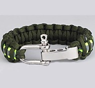 Survival Bracelet Hiking Nylon Other - Lureme