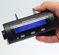 manos libres bluetooth kit de coche altavoz callerid muestra para iPhone5 5s samsung Note3