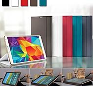 premium business flip tablet beschermer geval boekomslag voor samsung galaxy tab s 8.4 t700 t705 (verschillende kleuren)