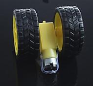 robôs pneu + dc motor da engrenagem