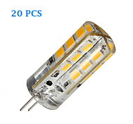G4 3 W 24 SMD 2835 270 LM Warm White/Cool White Bi-pin Lights DC 12 V