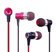 bayasolo 561 cable plano In-Ear auriculares con micrófono para iPod / iPod / phone / mp3