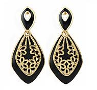 2015 Wholesale Cheap Enamel Hanging Women Drop Earrings