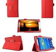 pu custodia in pelle caso della copertura del basamento per tablet Samsung Galaxy Tab 7.0 4 T230 T231