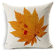 Осенний лист хлопок / лен декоративная подушка крышка