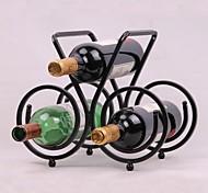 aço projeto do vintage vinho rack bar titular prateleira garrafa bar decoração exibição