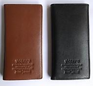Modern Leather Purse Coin Pocket Money Clip Business Card Holder Man Wallet (Assorted Color)