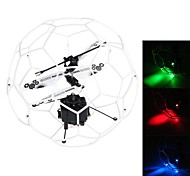777-337 3.5-Channel Mini UFO Flying Ball with Gyro/LED Light