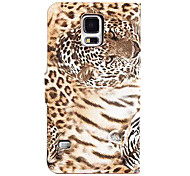 Wild Tiger Pattern PU Leather Case for Samsung Galaxy Note 4