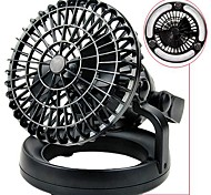Outdoor Camping Tent Fan with Luminous Camping Lamp