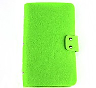 Extra Large Fabric + PVC 96-Slot Card Storage Pack Case - Green