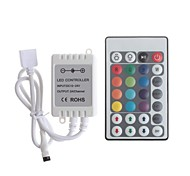 Infrared  28-Key LED RGB Light Dimmer Remote Controller