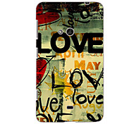 LOVE Design Hard Case for Nokia N625