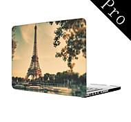 "Paris Eiffelturm Ganzkörper-Kunststoffschutztasche für MacBook Pro 13 ""/ 15"" (Nicht-Netzhaut)"