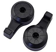 Universalhaken für Pkw, 360 ° drehbar, verwenden Sie für den Anschluss Taschen und Kleidung, einfach zu installieren, Lager Gewicht 5 kg (2 Stück)