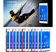 Love Mei Ultrathin Alloy Bumper Curved Edge Metal Case Cover for SONY Xperia Z3(Assorted Colors)