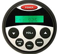 H-804 Moda impermeável Marinha estanque Gauge Tamanho Stereo MP3 FM AM Radio Sound System Receptor Player para Barco SPA