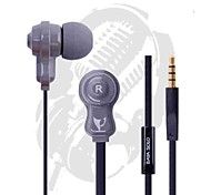 bayasolo 532 cable plano In-Ear auriculares con micrófono para iPod / iPod / phone / mp3