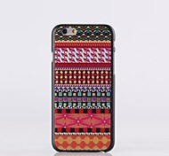 Folk Style Pattern PC Hard Case for iPhone 6 plus