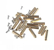 Two-way 20mm Brass DIY Binding Post Terminals for (For Arduino)(50 PCS)