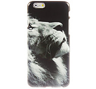 Lion Pattern Hard Case for iPhone 6