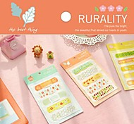 Rural Pattern Band-Aid Set(Random Color)