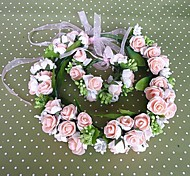 Women's Fabric Headpiece-Wedding Wreaths