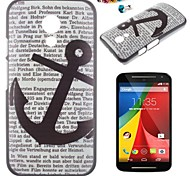 The British Flag Pattern PC Back Cover Case With Dustproof plug for Motorola G2