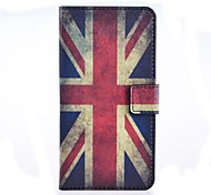 British Flag Pattern PU Leather Case with Stand and Card Slot for Huawei Ascend G620S
