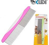 Grooming Comb Pet Grooming Supplies Portable Multicolor Stainless Steel