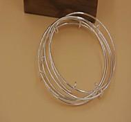Fashion Hot Sale Golden Alloy Charm Bracelet(More Color Available)(1pc)