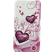 abrir e amor para baixo padrão de telefone de proteção shell caso de corpo inteiro para iphone 6 mais