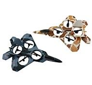 control remoto por radio cheerson drone 6048 modelo F22, rc helicóptero de 4ch Quadcopter de 6 ejes para los juguetes de los niños