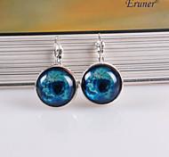 Eruner®Nebula Galaxy Cabochon Earrings, Charm Earrings, Galactic Cosmic Moon Earrin