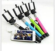 No Need Bluetooth Extendable Handheld Telescopic Self-portrait Monopod for iPhone and Other Phones
