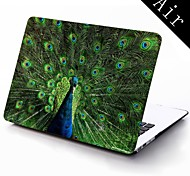 The Peacock Design Full-Body Protective Plastic Case for 11-inch/13-inch New Mac Book Air