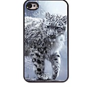 Tiger Pattern Aluminum Hard Case for iPhone 4/4S