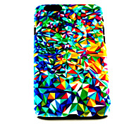 Fashion Punk Colorful Triangle Pattern TPU Soft Cover for iPhone 6 Case 4.7 inch
