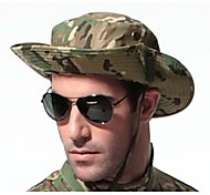 ESDY Camouflage Outdoor Fishing Windproof Polyester Shade Rounded Edges Ben Nepalese Hat CP