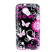 4 Inch Butterfly Pattern TPU Soft Case Back Cover for Nokia Lumia 530