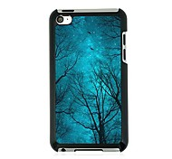 The Forests of the Night Sky Leather Vein Pattern Hard Case for iPod touch 4