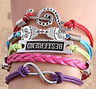 Woven Small Accessories Metal Bracelet B512