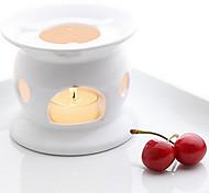 estilo europeu suporte de vela de cerâmica