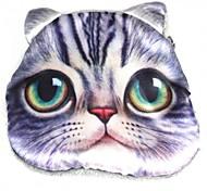 Women's Lovely Cat Pattern Plush Change Coin Purse Pouch