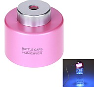 Portable Mini Creative Air Purifying Atomization Humidifier USB Powered Bottle Caps Humidifier(Assorted Colors)