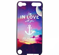 Sunset Anchors Pattern Hard Case for iPod touch 5
